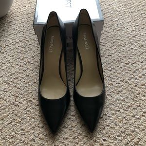 "Nine West ""Martina"" black pumps new with box"